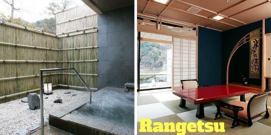 Hotel dengan Private Onsen di Kyoto: Rangetsu