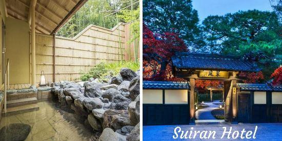 Hotel dengan Private Onsen di Kyoto: Suiran