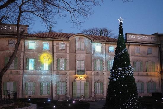 Iluminasi Natal di Museum Little Prince Hakone