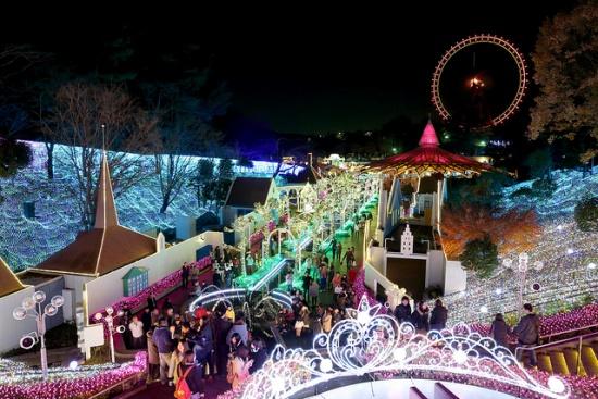 Iluminasi di Seibu Amusement Park