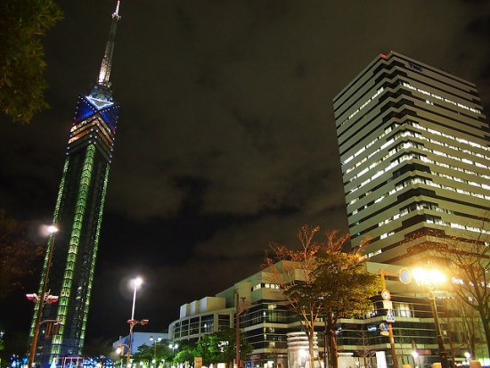 Info Wisata di Hakata Fukuoka Tower