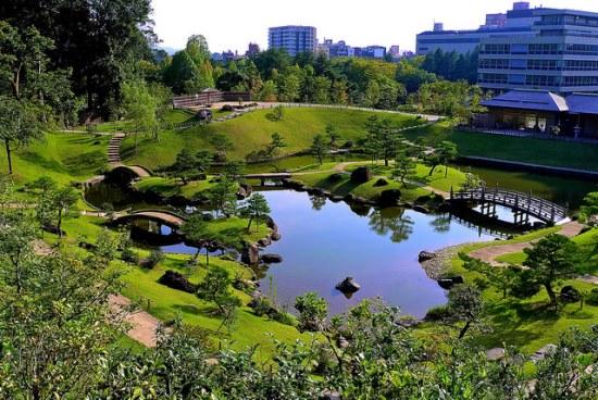Info Wisata di Kanazawa Taman Gyokuseninmaru