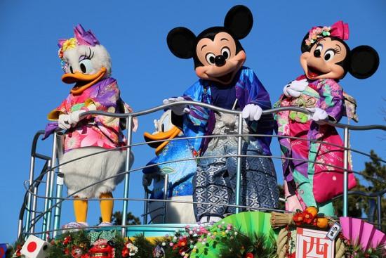 Itinerary Tokyo Kawaguchiko OsakaHari 2 Tokyo Disneyland