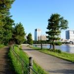 Jalan kaki di Odaiba Tokyo