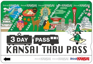 Kansai Thru Pass versi 3 hari