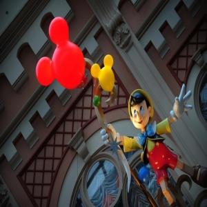 Karakter imut Tokyo Disneyland