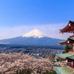 Keindahan Pagoda Chureito dan Gunung Fuji