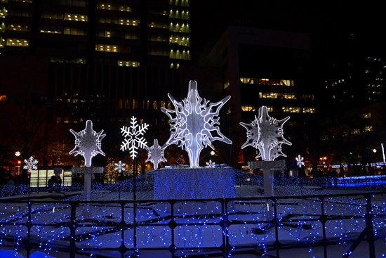 Keindahan Sapporo White Illumination