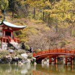 Keindahan warisan budaya dunia Kuil Daigoji Kyoto