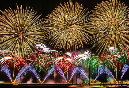 Kemegahan Festival Kembang Api Atami