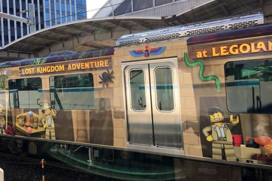 Kereta menuju ke Legoland Nagoya
