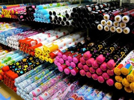 Kiddy Land Omotesando Harajuku: macam-macam alat tulis