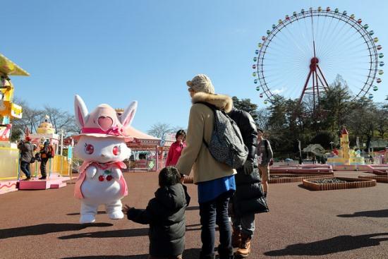 Kincir raksasa di Seibu Amusement Park
