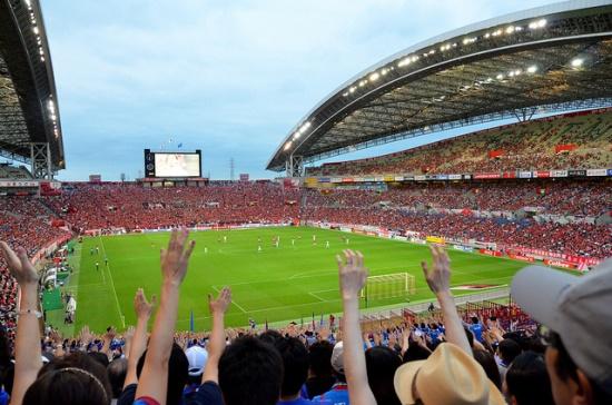 Menonton klub sepakbola Ventrofet Kofu Yamanashi