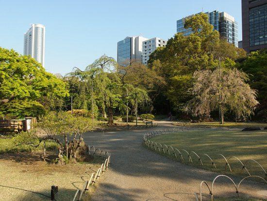 Koishikawa Korakuen spring