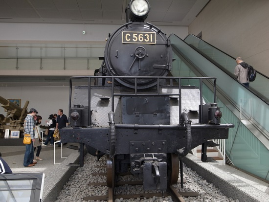 Koleksi lokomotif di Kuil Yasukuni Jinja
