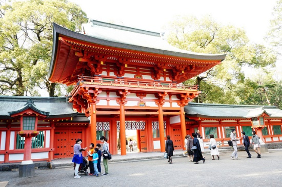Kuil Hikawa di kota Kawagoe