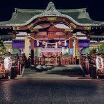 Kuil Kameido Tenjin Shrine di Tokyo