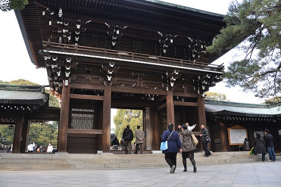 Kuil Meiji Jingu Tokyo