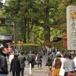 Kuil Nikko Toshogu di musim gugur