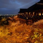 Kuil Terindah di Kyoto Kiyomizudera di malam hari