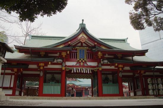 Kuil Terkenal di Tokyo Kuil Hie