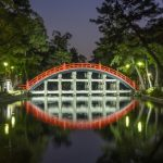 Light up di Kuil Sumiyoshi Taisha