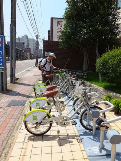 Lokasi rental Machinori di Kanazawa