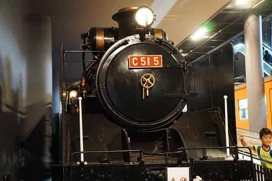 Lokomotif koleksi Museum Kereta Saitama