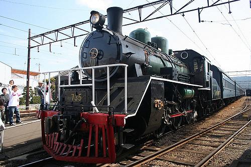 Lokomotif uap Kereta Batubara Oikawa