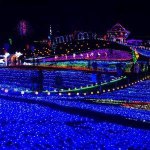 Melihat Iluminasi Tokyo German Village