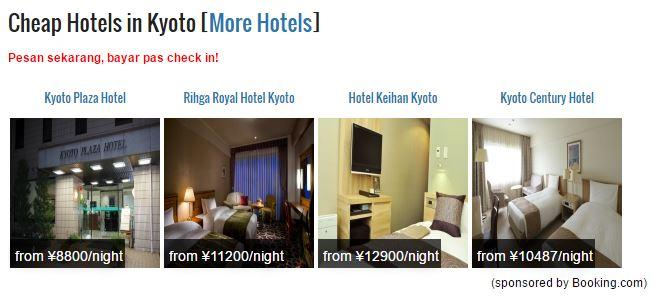 Memesan Hotel di Jepang di halaman