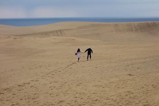 Menikmati padang pasir Tottori