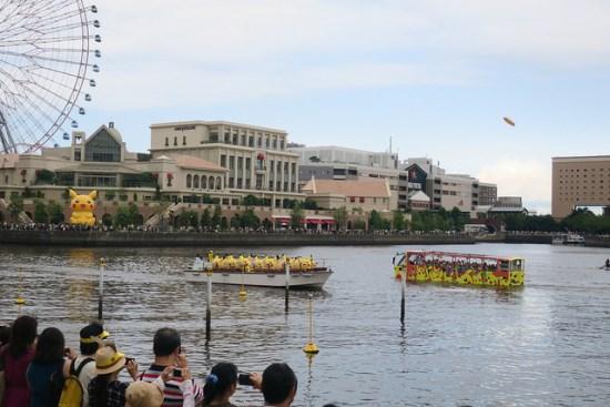 Menonton Parade Pikachu di Yokohama