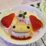 Menu makanan di Character Foodcourt Sanrio Puroland