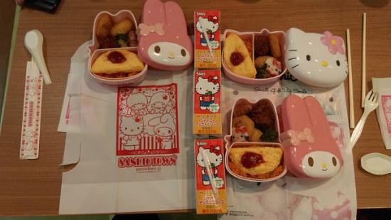 Menu makanan lucu di Sanrio Puroland