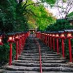 Menuju ke Kifune Jinja di Kyoto