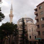 Bagian dalam Mesjid Tokyo Camii
