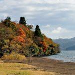 Momiji musim gugur dari Hakone En