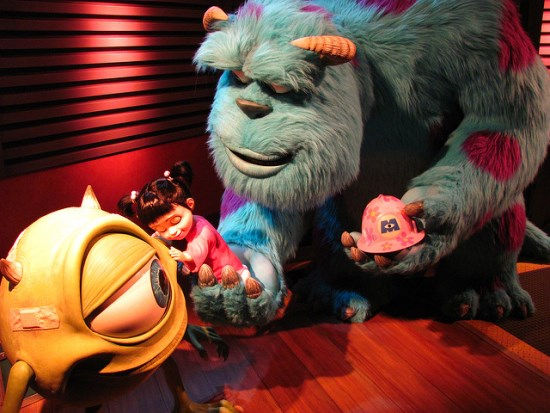 Monster Inc Ride and Seek di Tokyo Disneyland