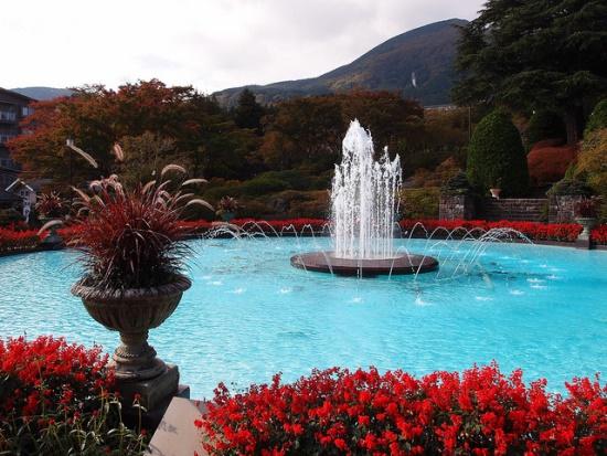 Musim Gugur di Hakone Taman Gora