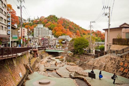Musim gugur di Arima Onsen Hyogo