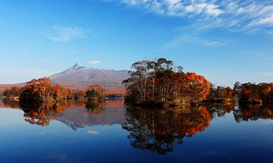 Musim gugur di Taman Onuma