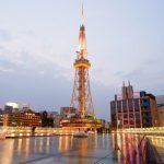Nagoya TV Tower dari Oasis 21 di Sakae