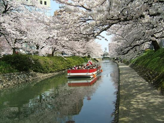 Naik perahu Matsukawa River Cruise