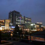 Odaiba Decks di malam hari