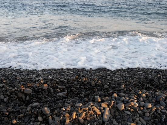 Ombak di Pantai Miho Shizuoka