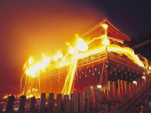 Omizutori di Kuil Todaiji