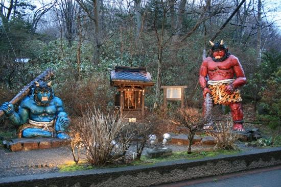 Oni di Jigokudani Noboribetsu Hokkaido
