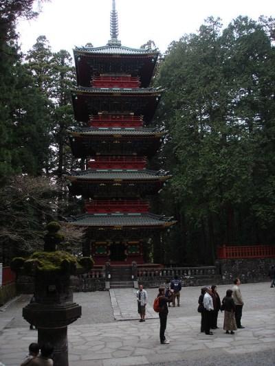 Pagoda Gojunoto di kompleks Kuil Nikko Toshogu